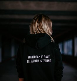 Rotterdam Rave Hoodie Slogan (Unisex)