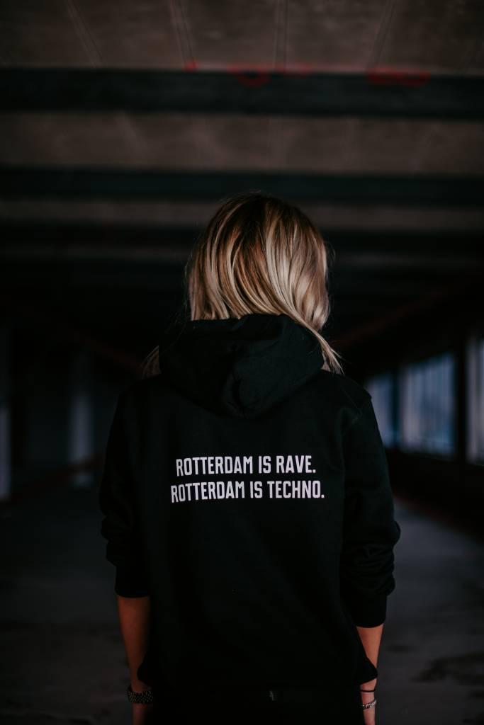 Rotterdam Rave Hoodie (unisex) Rotterdam is rave. Rotterdam is techno.