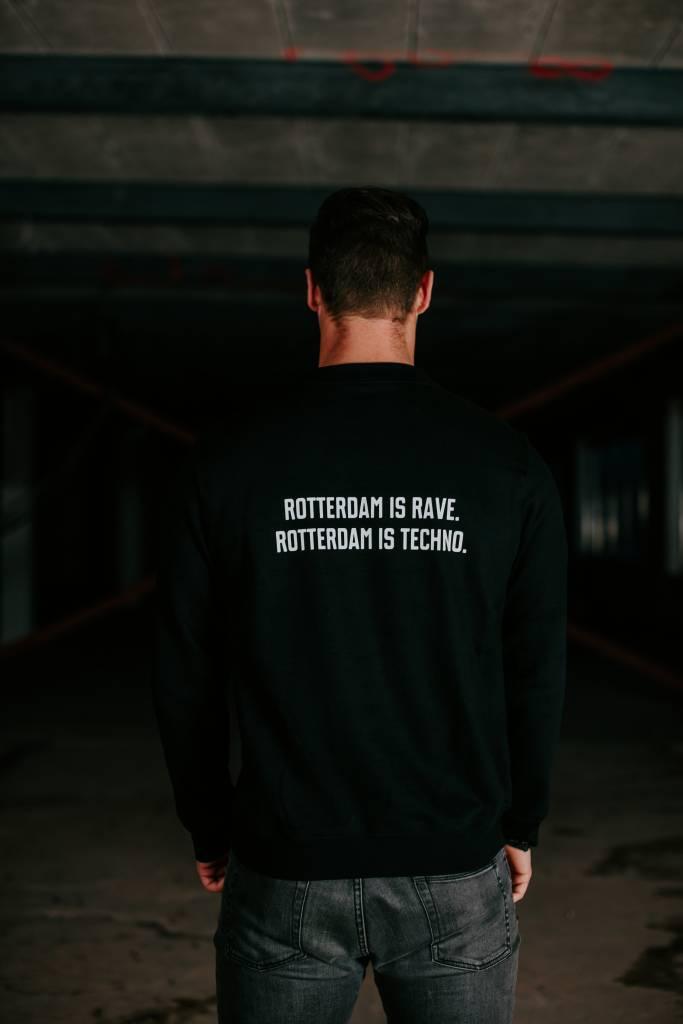 Rotterdam Rave Crewneck (unisex) Rotterdam is rave. Rotterdam is techno.