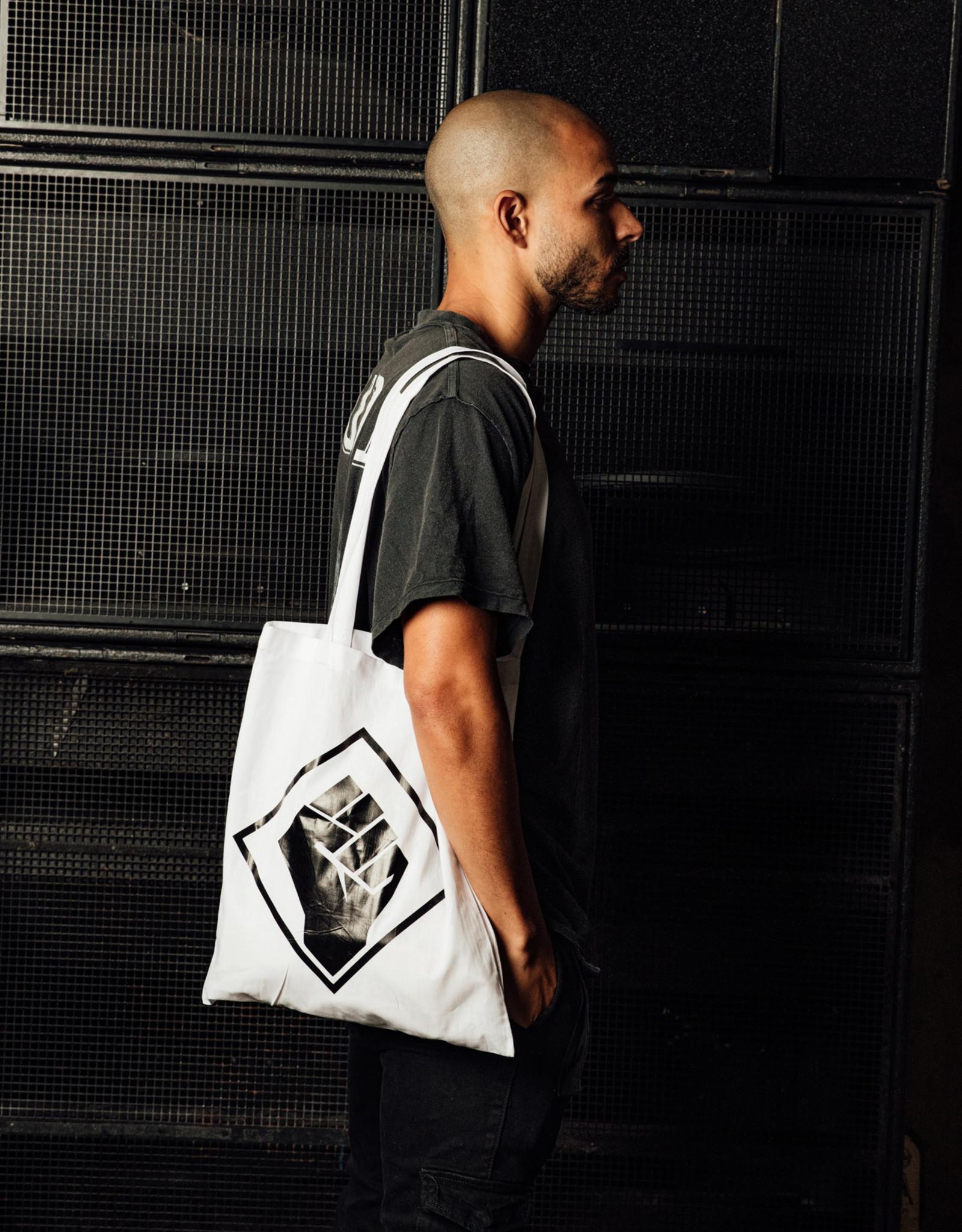 Rotterdam Rave Rotterdam Rave Cotton Bag (White)