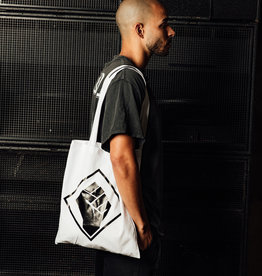Rotterdam Rave Cotton Bag (White)