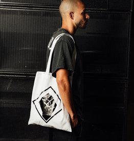 Rotterdam Rave Cotton Bag (White)