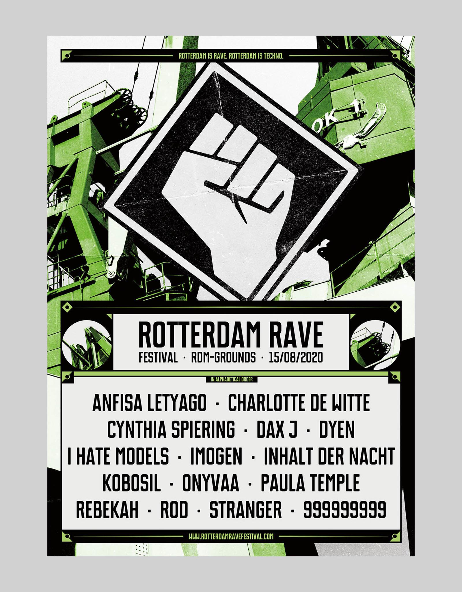 Rotterdam Rave Rotterdam Rave Poster Festival 2020