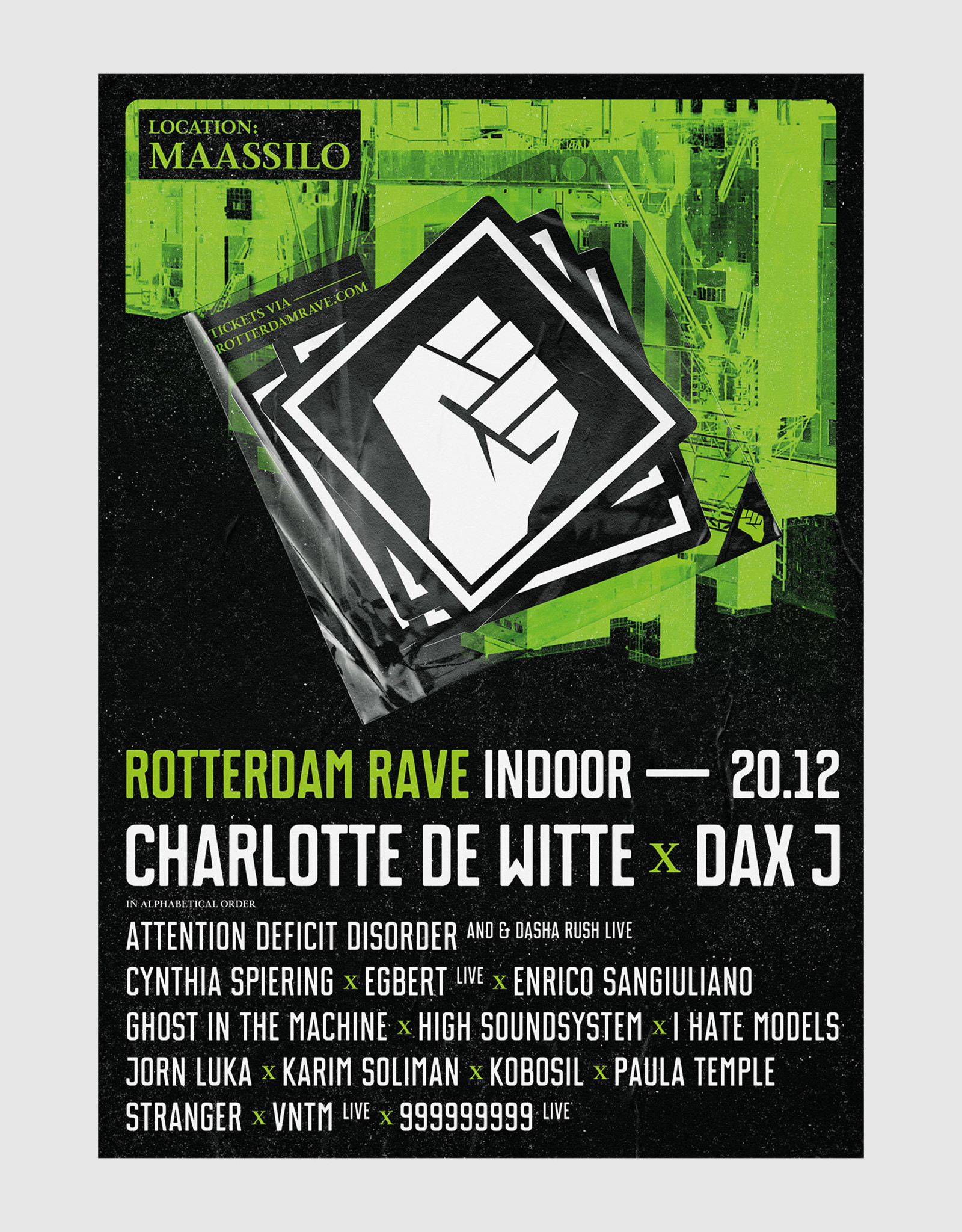 Rotterdam Rave Rotterdam Rave Poster Indoor Closing 2019