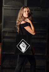 Rotterdam Rave Rotterdam Rave Cotton Bag (Black)