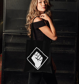 Rotterdam Rave Cotton Bag (Black)