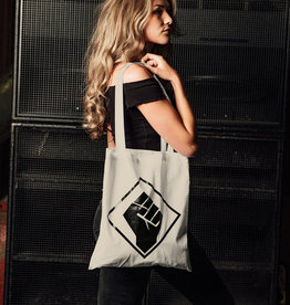 Rotterdam Rave Cotton Bag (Sand)
