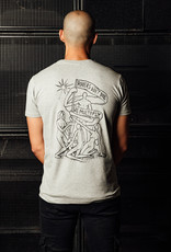 Rotterdam Rave Rotterdam Rave x Iwan Smit T-shirt Grey (Unisex)