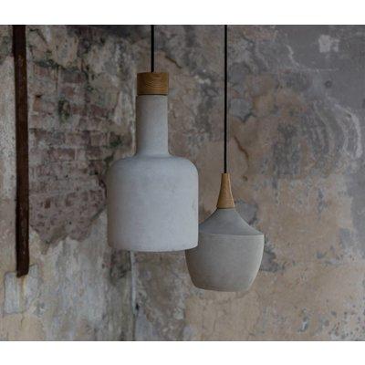 Hanging lamp Cradle bottle concrete