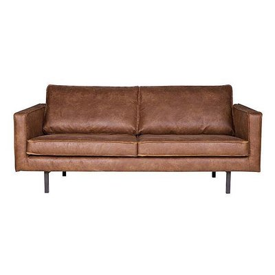 Basiclabel 2.5 seater brown leather