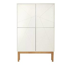 06 Design Cabinet white / wood