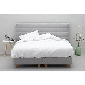 Functionals Bed lichtgrijs