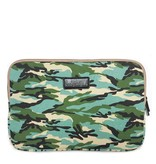 15inch Dames Laptop Sleeve Combat Blue | Bestel via Bol.com