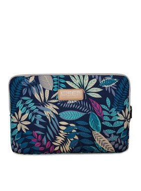 13inch-Dames-Laptop-sleeve-Forest-Blue