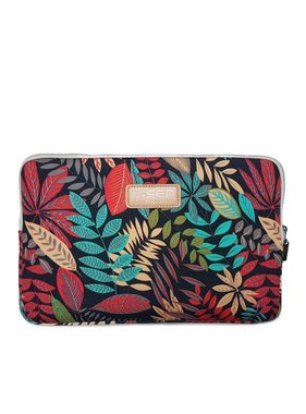14inch Dames Laptop sleeve Forest Red
