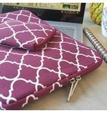 14inch Dames Laptop Sleeve Persian Wijnrood | Bestel via Bol.com