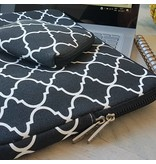 14inch Dames Laptop Sleeve Persian Zwart   Bestel via Bol.com