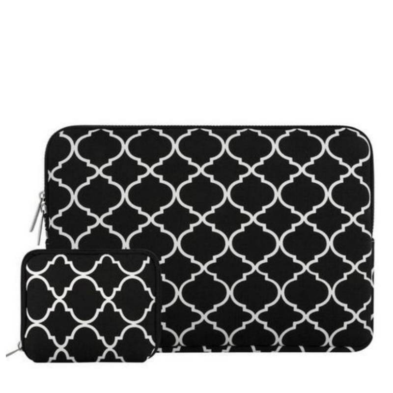 15inch Dames Laptop Sleeve Persian Zwart   Bestel via Bol.com