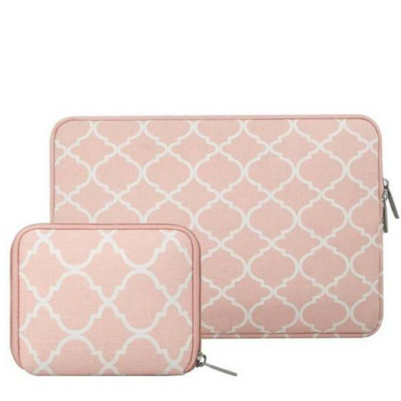 15inch Dames Laptop Sleeve Persian Zachtroze | Bestel via Bol.com