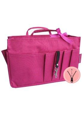 Bag in Bag Medium Classic Roze Rits