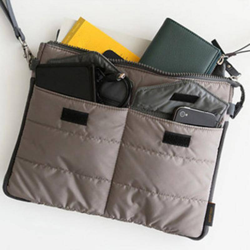Bag in Bag Budget Tablethoes Grijs