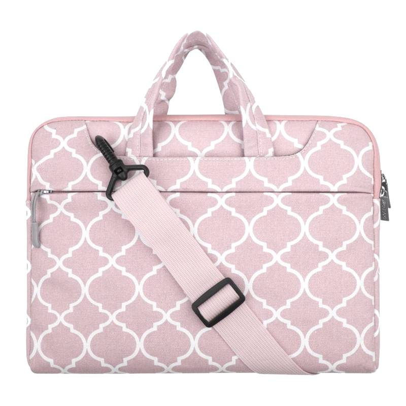 b0423112cf0 ... 15inch Dames Laptoptas Hengsel Persian Roze | Bestel via Bol.com