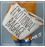 "Katoenen Shopper met tekst ""Everything i need and a little bit more"""