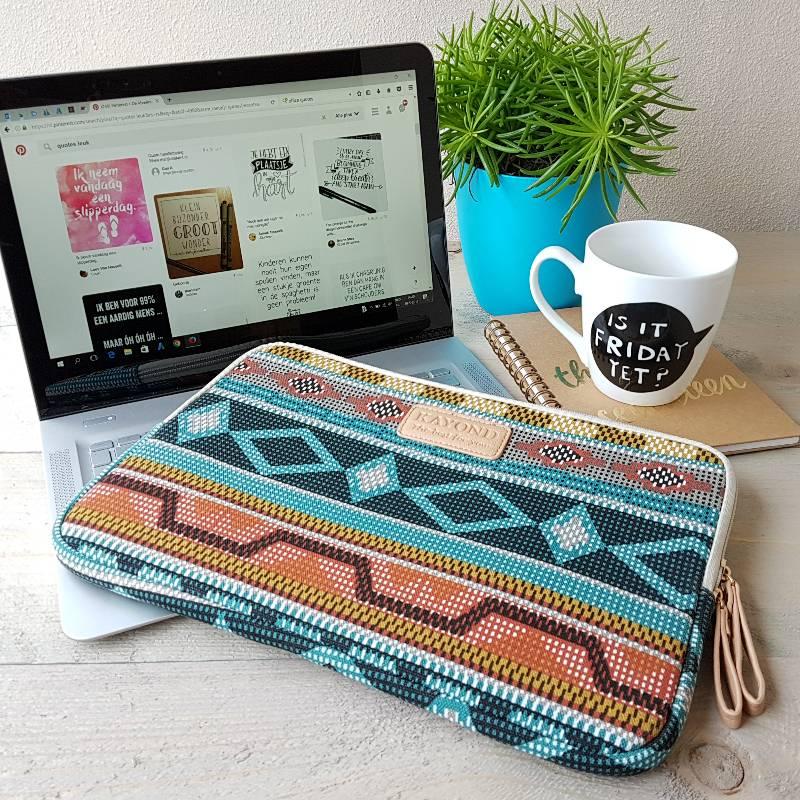 13inch Dames Laptop Sleeve Retro Style