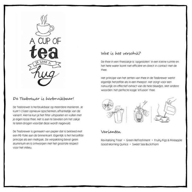 Theecadeau | Teabrewer Zomaar