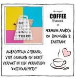 Koffie cadeau | Coffeebrewer Gefeliciteerd