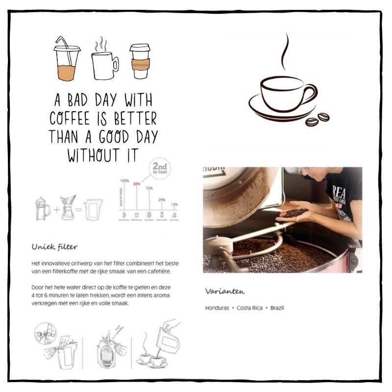 Koffie cadeau | Coffeebrewer Ik Vind Je Lief