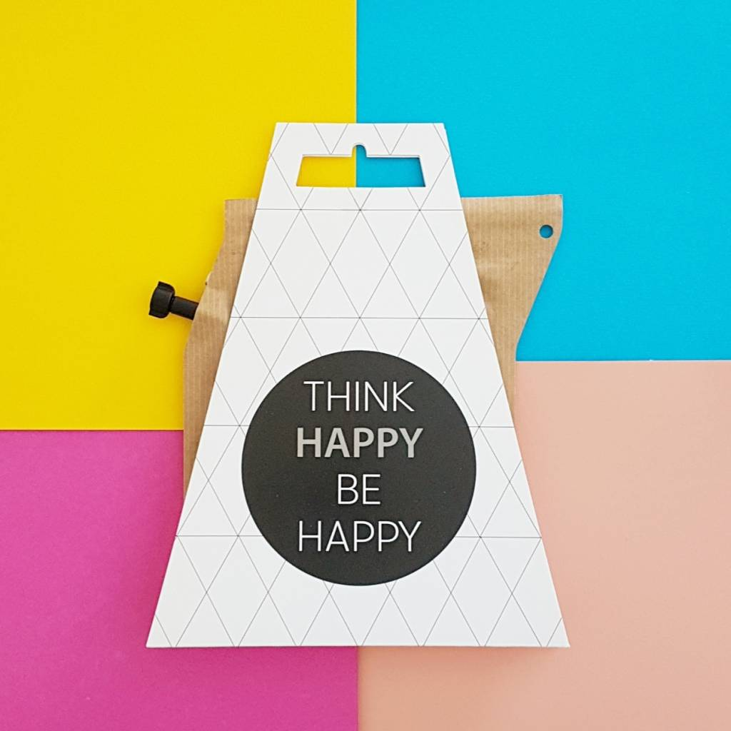 Koffie cadeau | Coffeebrewer Think Happy Be Happy