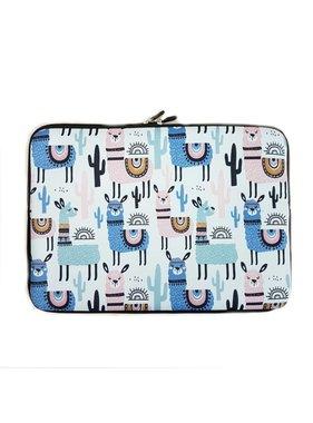 13inch Dames Laptop Sleeve Alpaca Lama