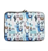 14inch Dames Laptop Sleeve Alpaca Lama