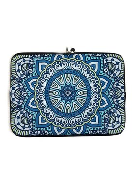 13inch Dames Laptop Sleeve Oosters Blauw