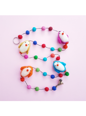 Babykamer Slinger / Guirlande Vilten Pinguins
