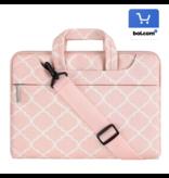 15inch Dames Laptoptas Hengsel Persian Roze  | Bestel via Bol.com