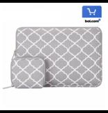 14inch Dames Laptop Sleeve Persian Grijs | Bestel via Bol.com