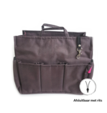 Bag in Bag Extra Large Classic Bruin Rits