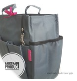 Bag in Bag Extra Large Classic Appelgroen Rits