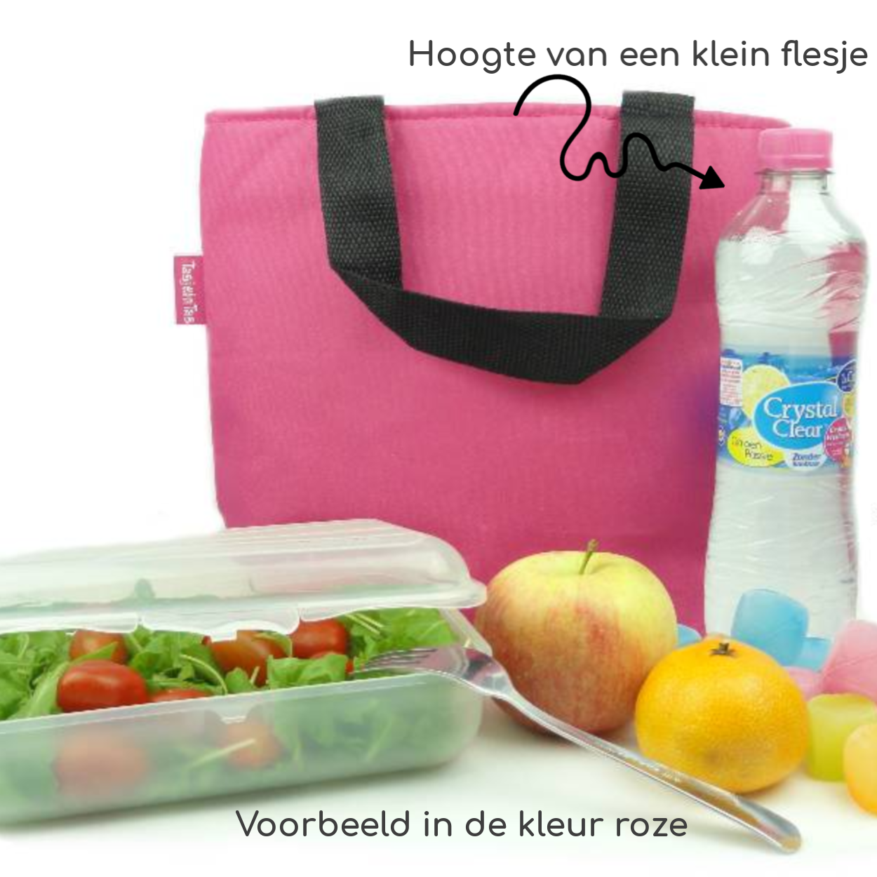 Bag in Bag Koeltasje Fuchsia