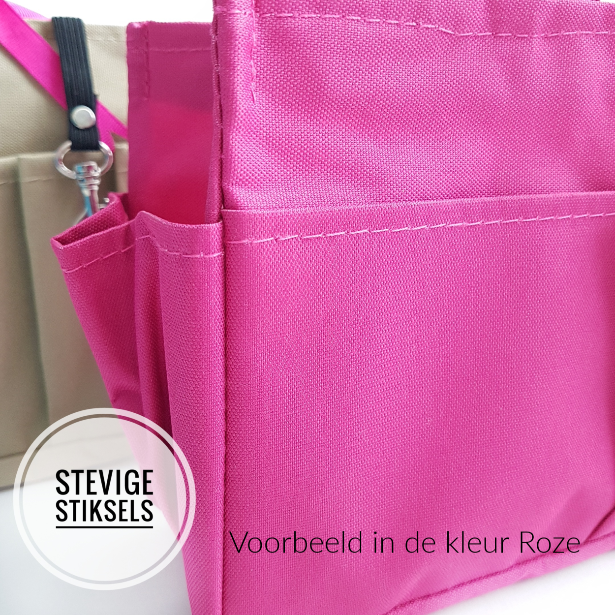 Bag in Bag Large Classic Roze