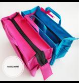 Bag in Bag Large Classic Appelgroen Rits