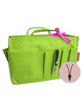 Bag in Bag Medium Classic Appelgroen Rits