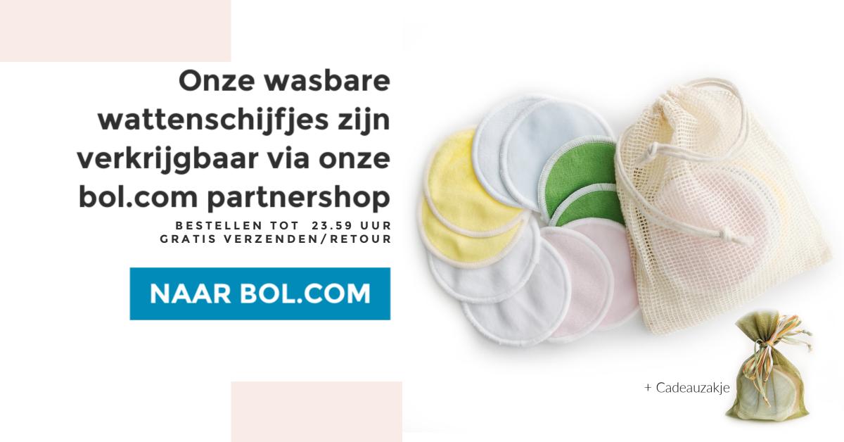 herbruikbare wasbare wattenschijfjes