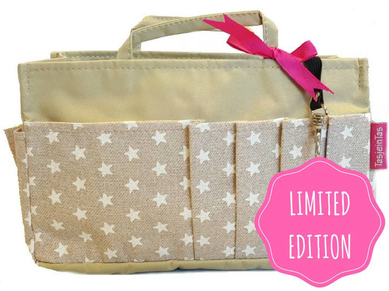 Bag in Bag  Large  Limited Edition  Khaki / Stars