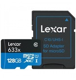 Lexar 128GB High-Performance 633x MicroSDXC UHS-I
