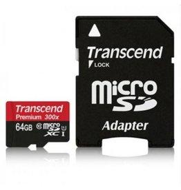 Transcend Micro SD kaart 64 Gb