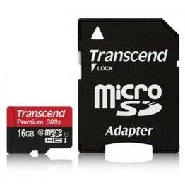 Transcend Micro SD kaart 16 Gb