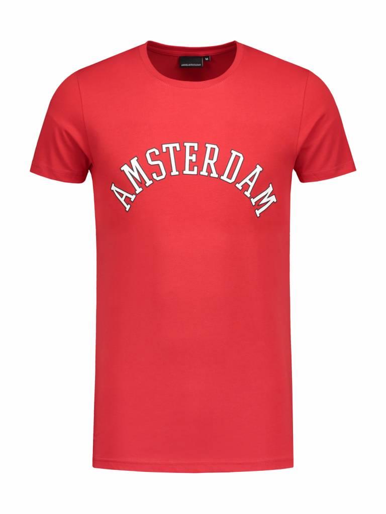 A'dam City T-shirt | Red